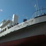 Невский ССЗ спустил на воду самоходный паром «Аркадий Филатов»