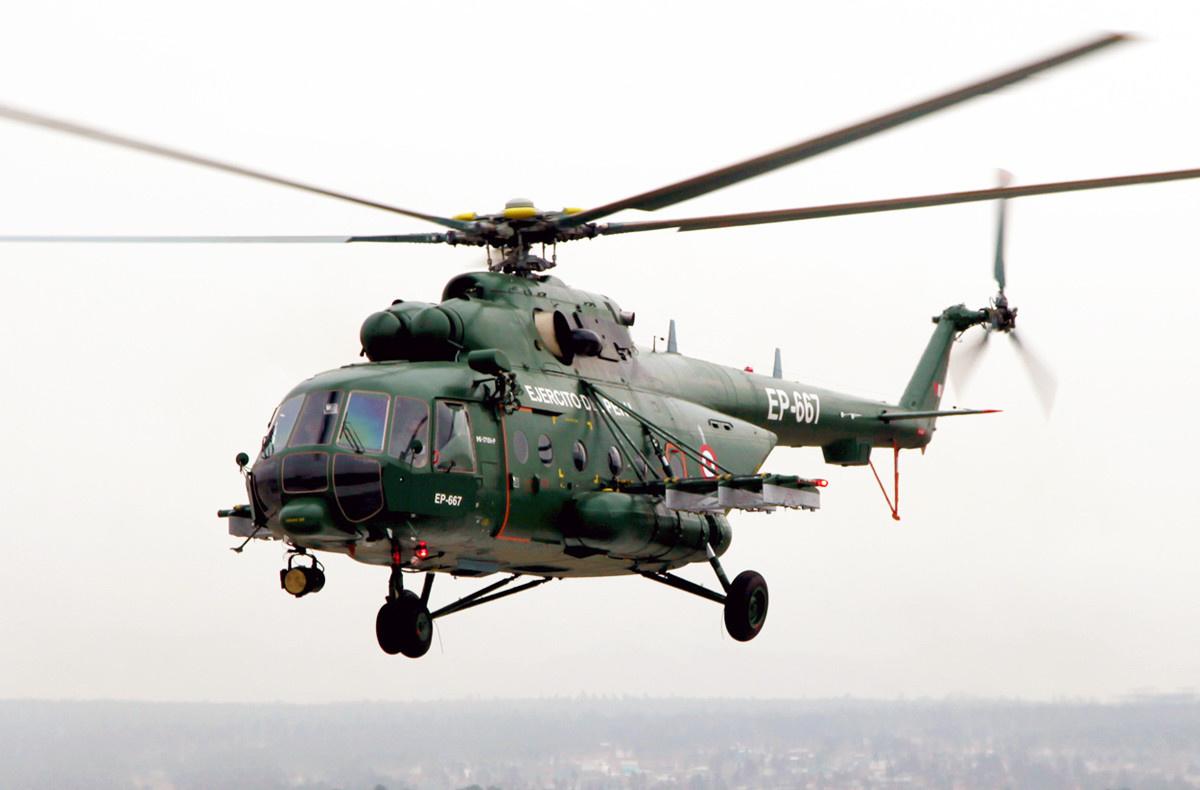 «Вертолеты России» на выставке SITDEF 2015 в Перу