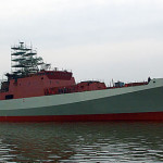 Фрегат «Адмирал Григорович» в третий раз вышел в море