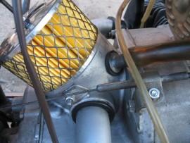Чистка воздушного фильтра мотоцикла