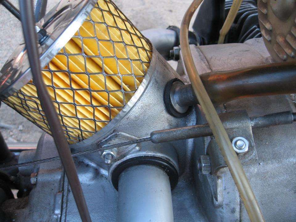 Как сделать воздушный фильтр для мотоцикла 762