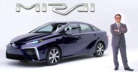 Toyota Mirai появится на рынке уже осенью