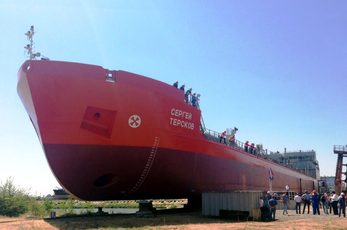 «Сергей Терсков» — первое судно проекта RST25
