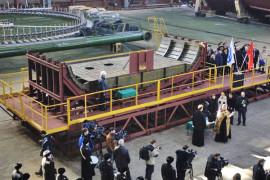 В Северодвинске заложили новейший ракетовоз