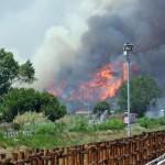 Пожар парализовал аэропорт Рима