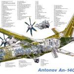 Самарский завод «Авиакор» приостановит сборку самолетов Ан-140