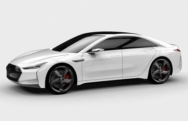 Габариты седана Youxia X чуть компактнее Tesla