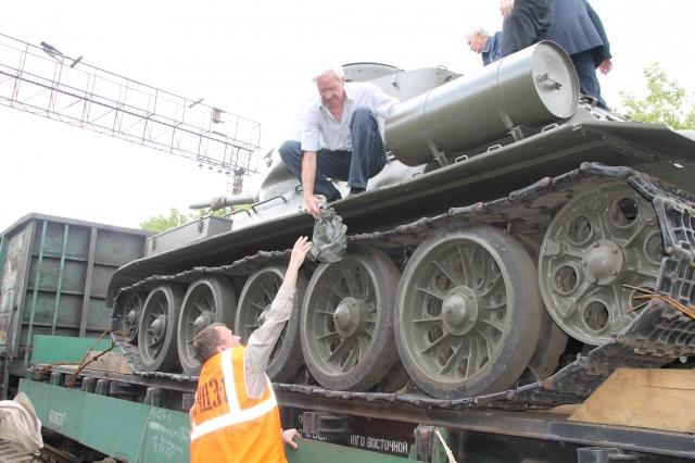 Пограничники пресекли попытку вывезти танк Т-34