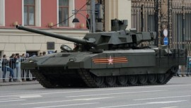 Русские танки вирус не берет