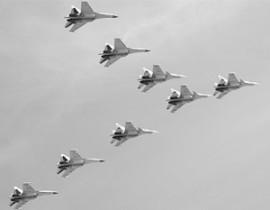 Су-30 оказались маневреннее европейских истребителей Typhoon
