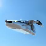 Летающий автомобиль Terrafugia TF-X предстал в новом облике