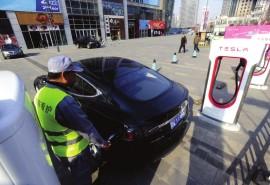 Tesla расширит сеть зарядных станций в Китае