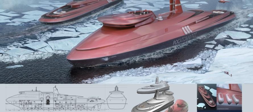 Проект нового российского атомного суперледокола
