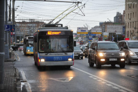 Скорость движения автомобилей в Москве выросла