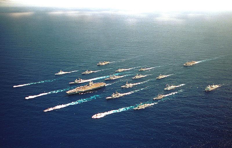 Может ли флот России, потопить хоть один авианосец США