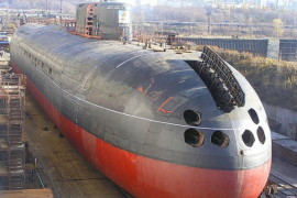 """Новую подлодку """"Краснодар"""" передадут российскому флоту 5 ноября"""