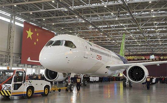 Пассажирский самолет C919