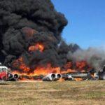 На Гуаме разбился бомбардировщик ВВС США