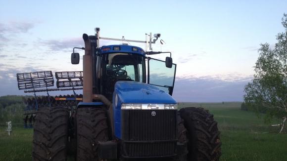Беспилотный трактор