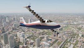 НАСА представило первый прототип полностью электрического самолета