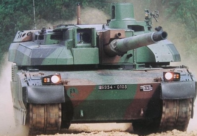 Танк AMX-56 Леклерк
