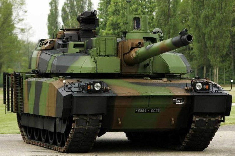 Французский танк AMX-56 Leclerc