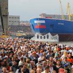 В Санкт-Петербурге спущен на воду самый мощный в мире атомный ледокол «Арктика»