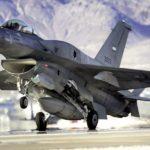 В небе над Джорджией столкнулись два истребителя F-16