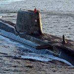 Британская атомная подлодка столкнулась с торговым судном у Гибралтара