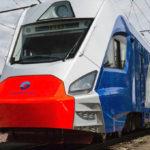Иволга поезд Московской кольцевой железной дороги