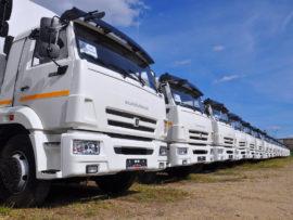 КАМАЗ увеличил продажи грузовиков на 41 процент
