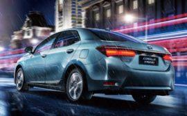 Обзор Toyota Corolla Hybrid 2016