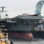 «Форд» в луже. Новый авианосец США не в состоянии выйти в море