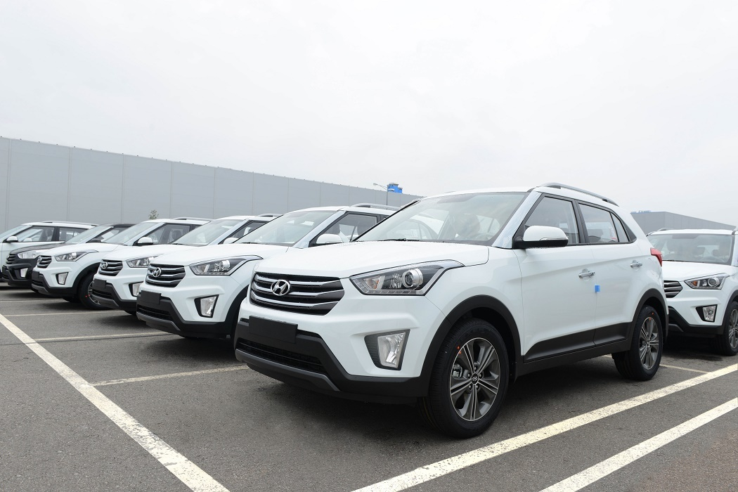 В Петербурге запущено массовое производство Hyundai Creta