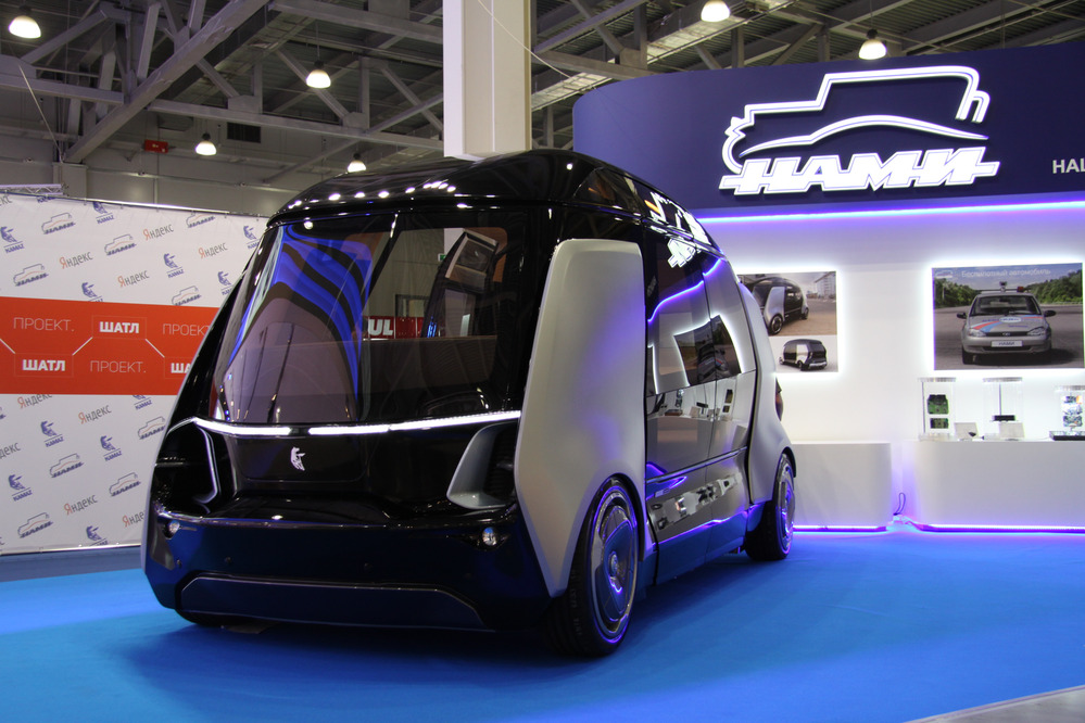 Футуристичный дизайн КАМАЗА будущего поразил россиян