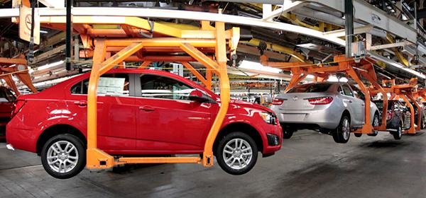 Производство автомобилей в России сократилось