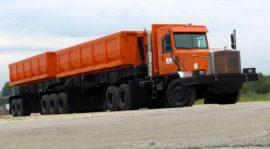 130-тонный автопоезд
