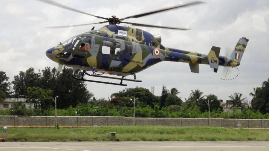 Первый полет индийского легкого вертолета LUH