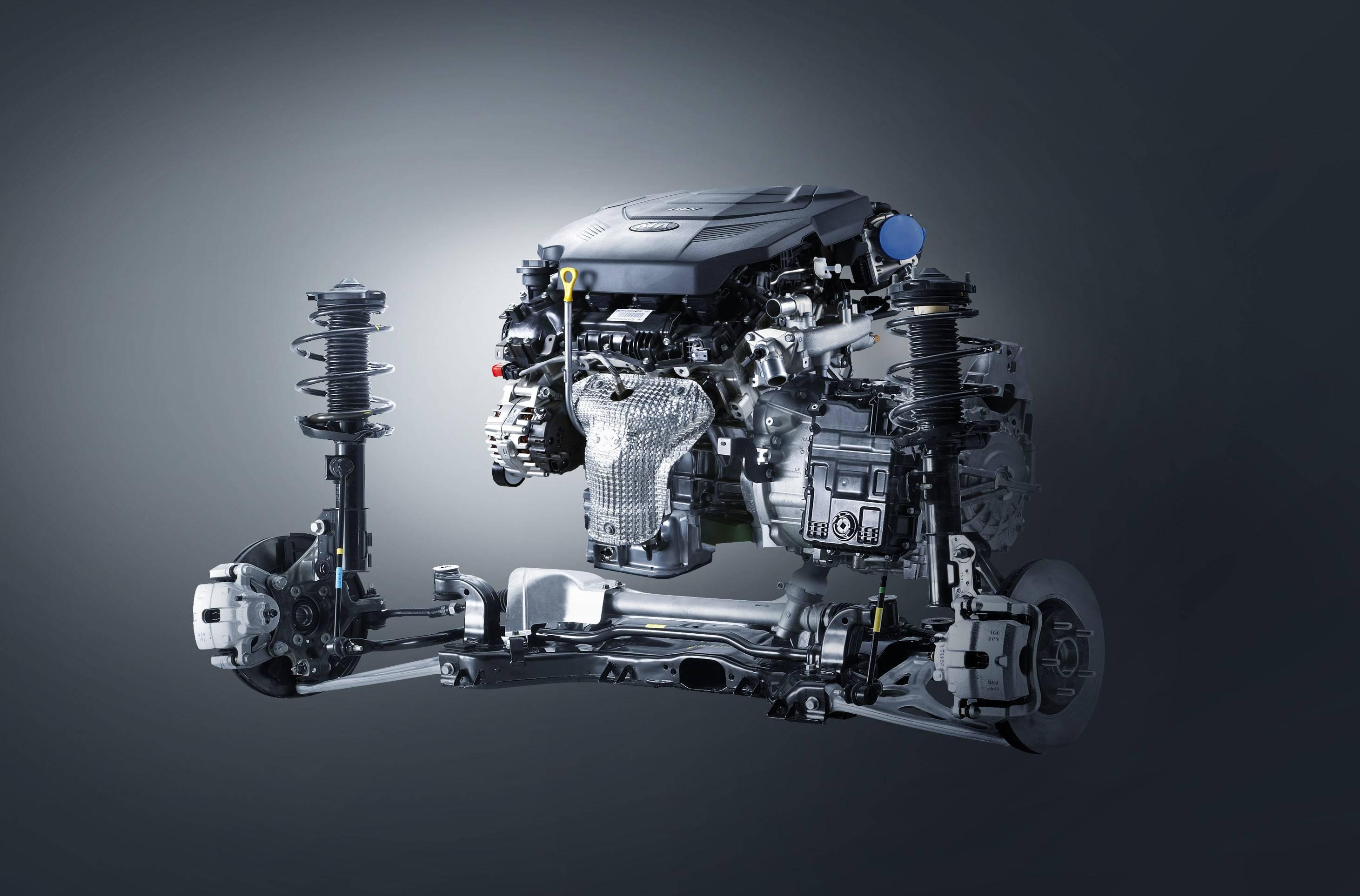 Kia представила 8-ступенчатую коробку передач