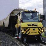 Mercedes-Benz презентует на ж/д выставке универсальный грузовик-поезд Unimog