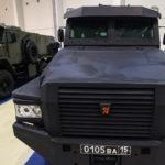 Ангольских пограничников посадили на российские грузовики