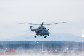 Вертолет Улан-Удэнского авиазавода отправился работать в Арктику