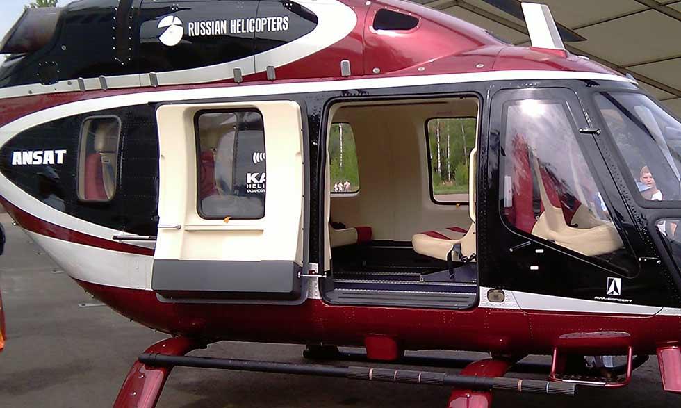 Вертолёты России разработали композитные вертолётные лопасти