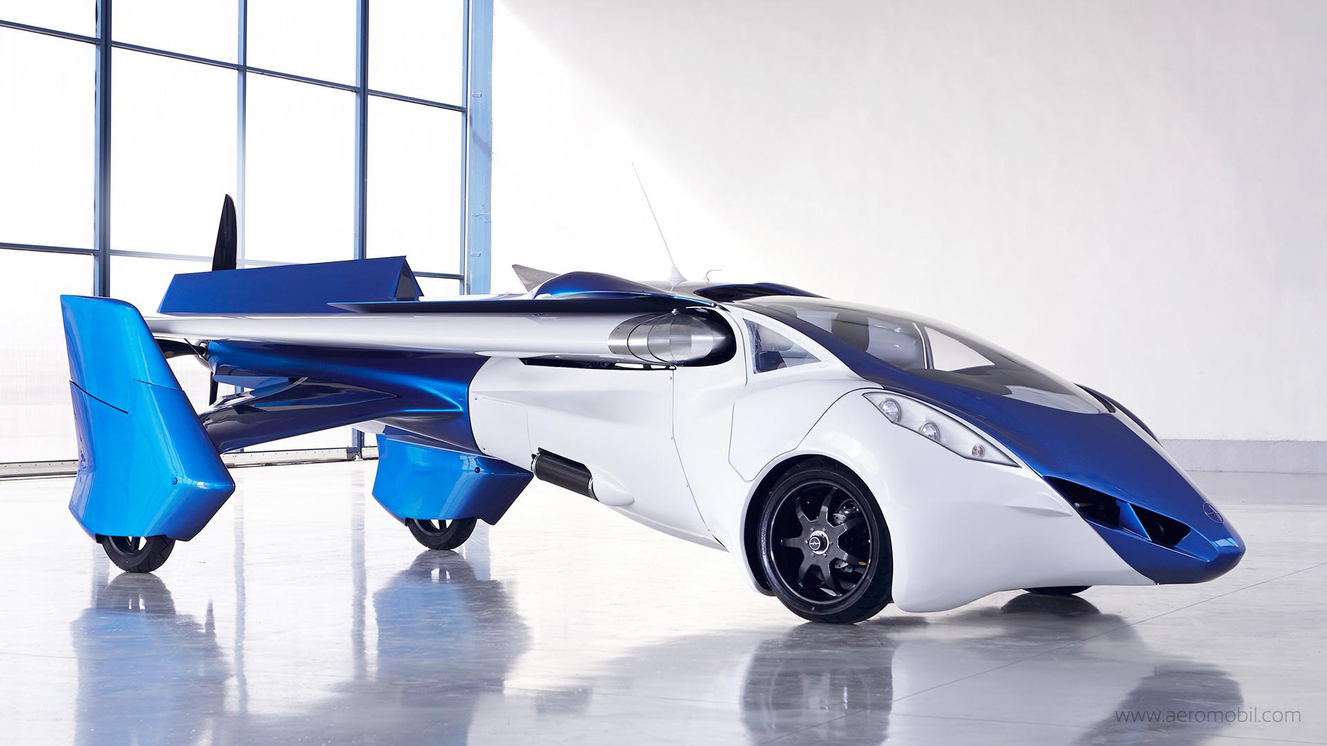 В 2017 году в небе появятся летающие авто