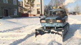 Житель Барнаула превратил «Жигули» в снегоуборочную машину