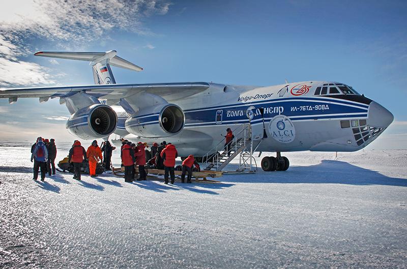 Ил-76ТД-90ВД для полетов в Антарктиду с материка