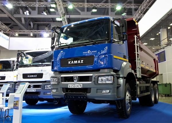 КАМАЗ занял 58% рынка грузовиков в России