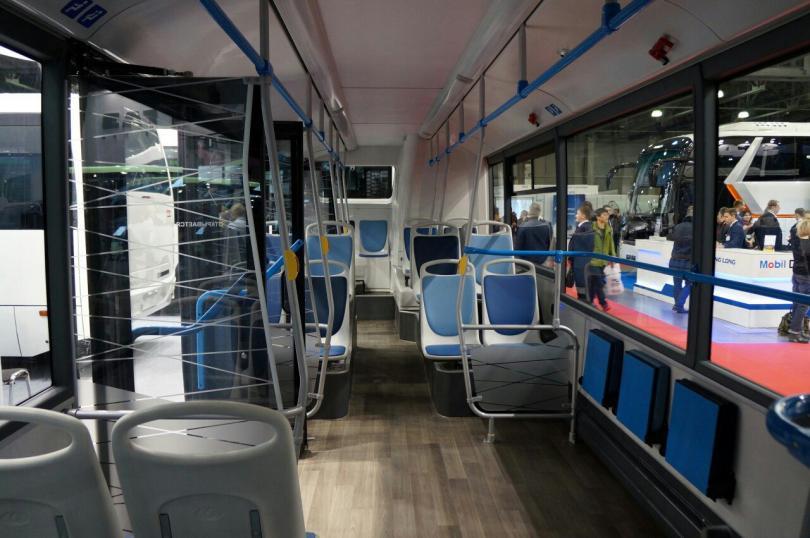 КАМАЗ-6282 с новым дизайном интерьера