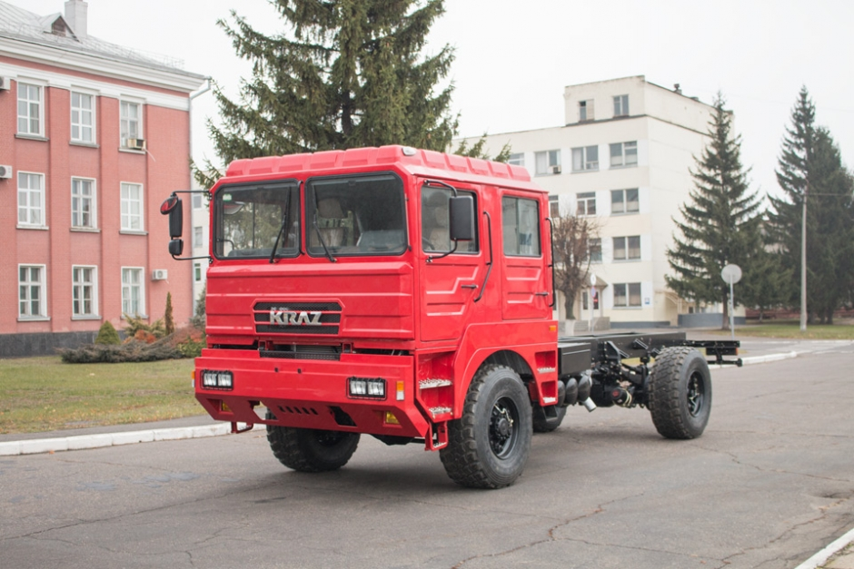 Китайская кабина для шасси КрАЗ-5401НЕ
