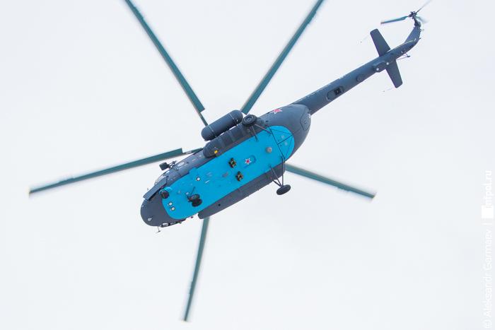 Ми-8АМТШ-ВА в арктическом варианте